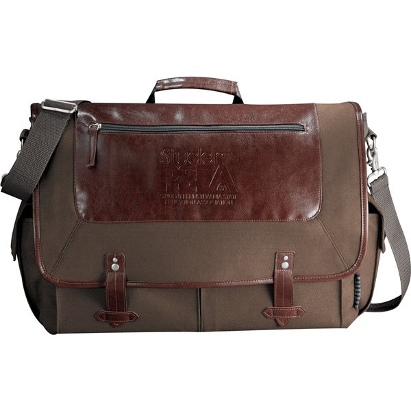 Promotional Field Co.(R) Classic 15 Computer Messenger Bag
