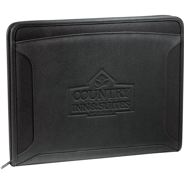 Promotional Case Logic(R) Conversion Zippered Tech Padfolio