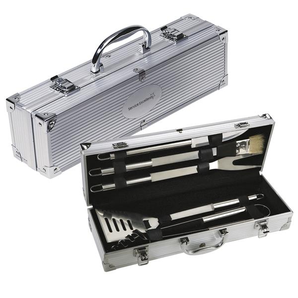Promotional 5 Piece Barbeque (BBQ) Set