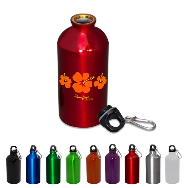 Promotional 17 oz Aluminum Petite Bottle