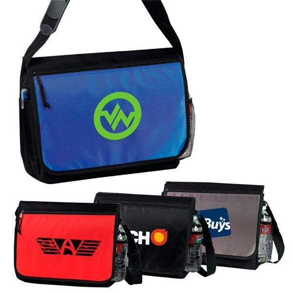 Promotional Santa Barbara Computer Messenger Bag