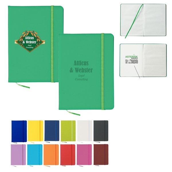 Promotional 80 Page Lined Journal Notebook