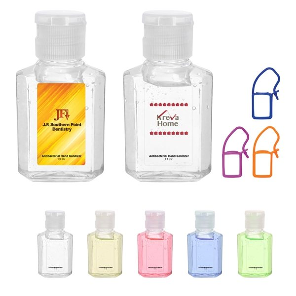 Promotional 1 oz Lightly Scented Antibacterial Hand Sanitizer