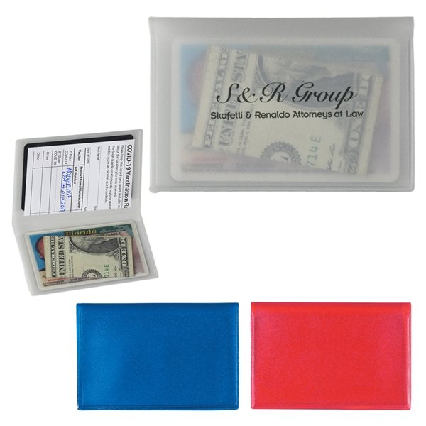 Promotional Plastic Card Holder