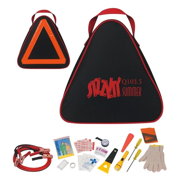Promotional Automotive Roadside and Medical Kit