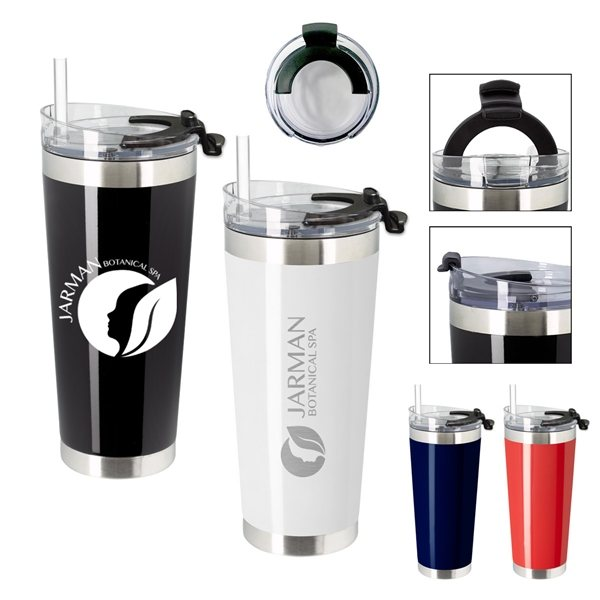 Promotional 28 oz Cobra Stainless Steel Tumbler
