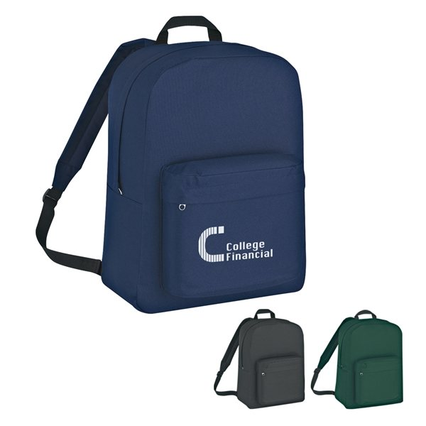 Promotional Polyester Classic Backpack