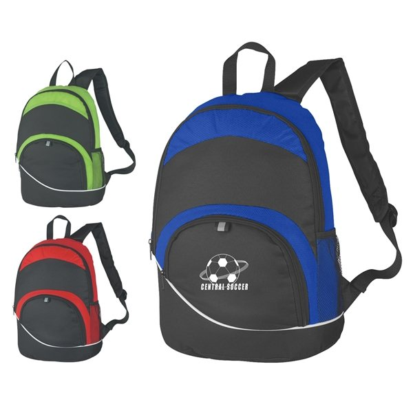 Promotional Non - Woven Curve Backpack