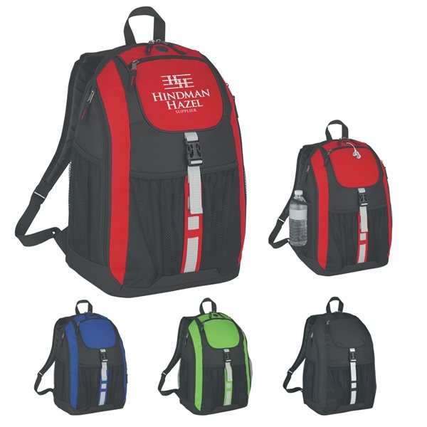 Promotional Polyester Deluxe Backpack