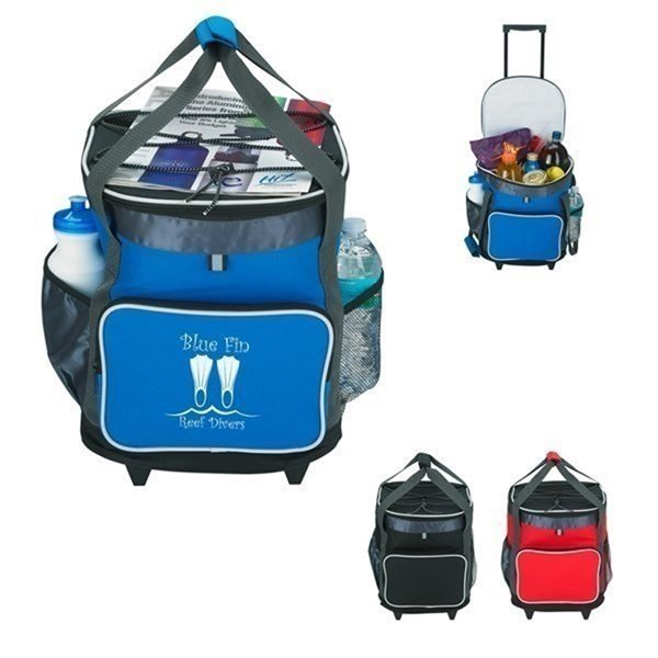 Promotional 24 Can Rolling Kooler