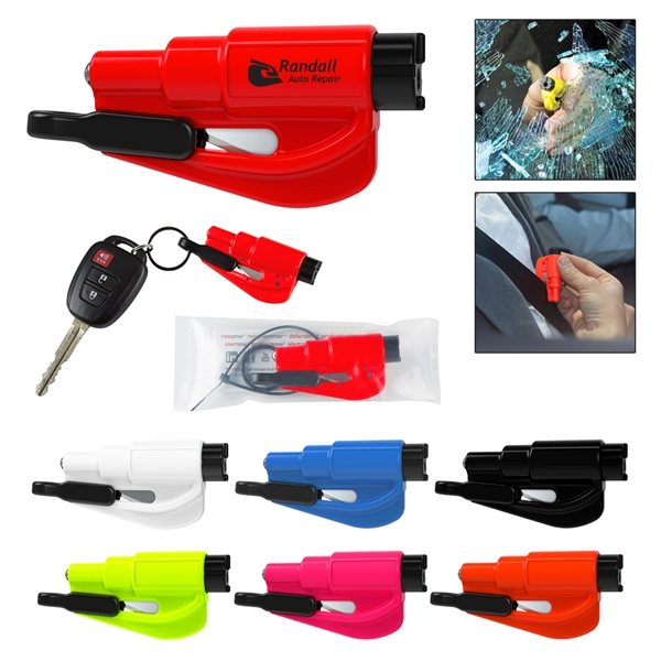 Promotional Resqme(R) Auto Safety Tool
