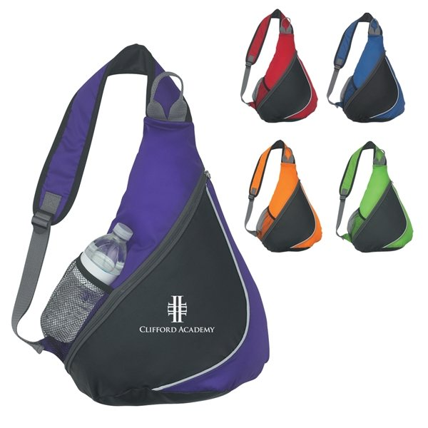 Promotional 210D Polyester Sling Pack