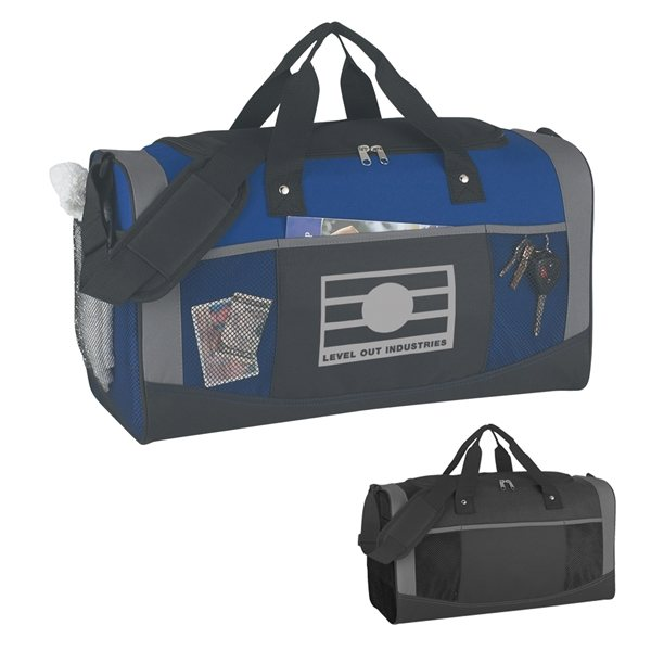 Promotional Polyester Quest Duffel Bag