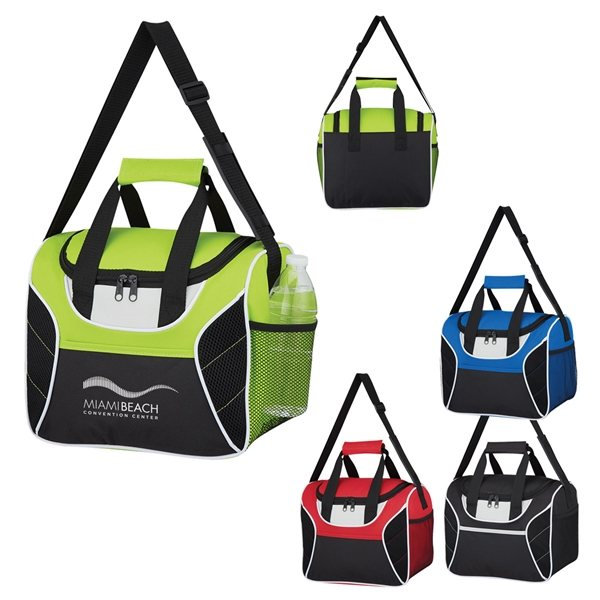 Promotional Mesh Accent Cooler Bag