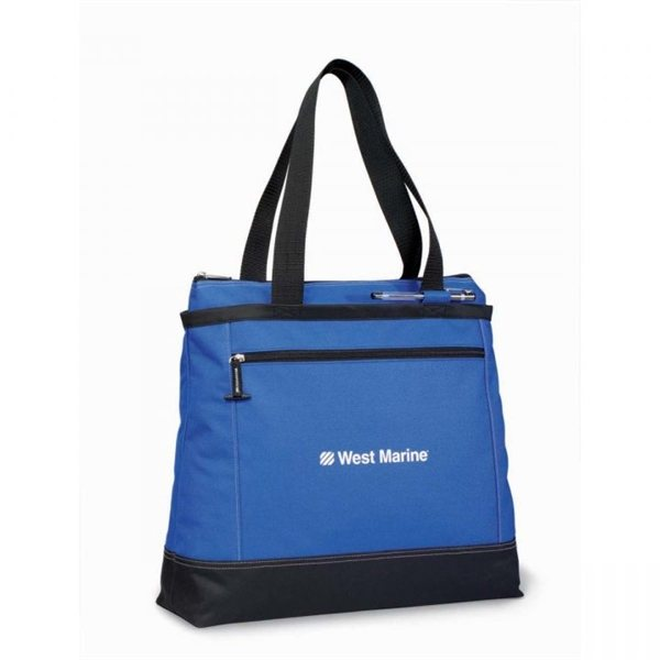 Promotional Royal Blue Gemline Utility Tote Bag
