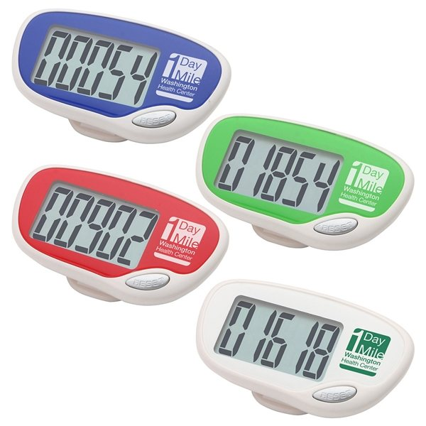 Promotional Easy Read Pedometer