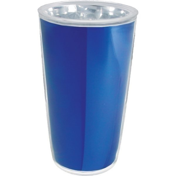 Promotional 16 oz Thermal Pint with Foil Insert - Plastic