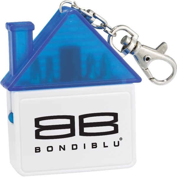 Promotional Home Sweet Home Tool Keychain