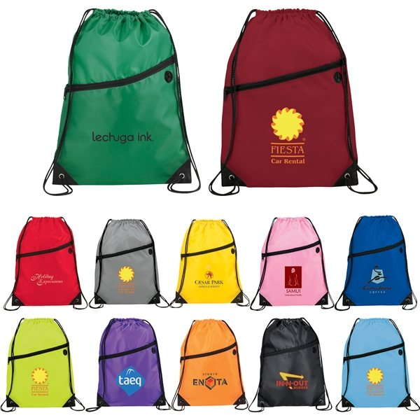 Promotional Robin Drawstring Bag