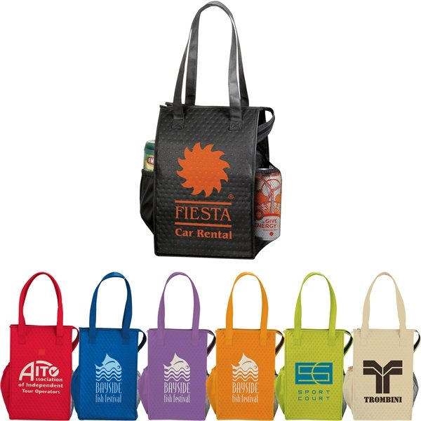 Promotional Big Time 14- Can Non - Woven Lunch Cooler