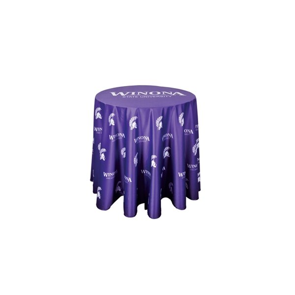 Promotional Round Table Throw - 36 Dia x 30 Height
