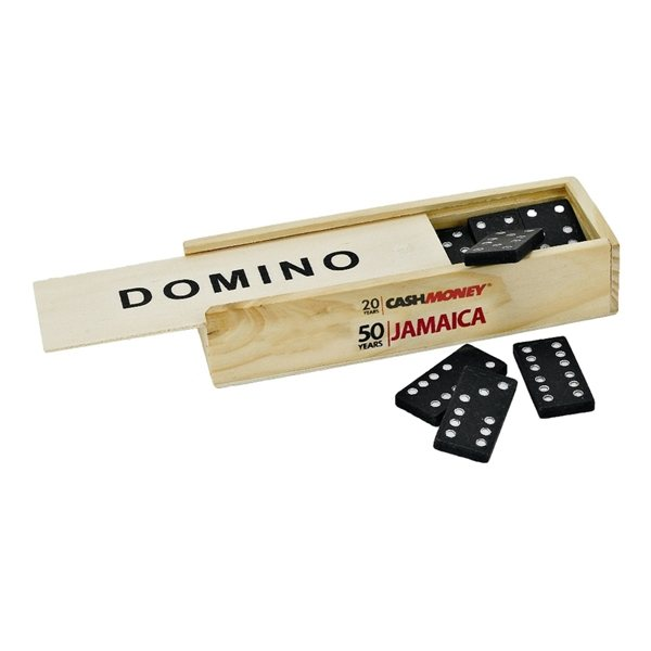 Promotional Domino Set with Wooden Case