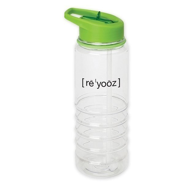 Promotional Kool It Flip - Top Bottle 25 oz (Green)