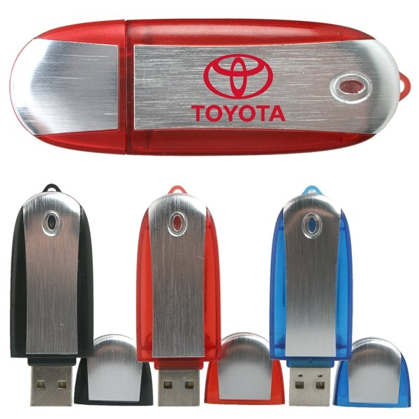 Promotional Chicago Capped USB Flash Drive