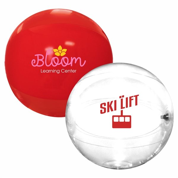 Promotional Solid Color Beach Ball