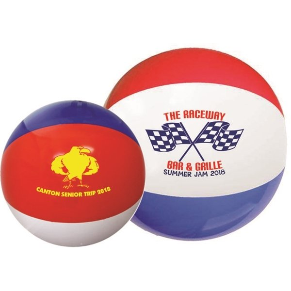 Promotional 16 Red / White / Blue Beach Balls