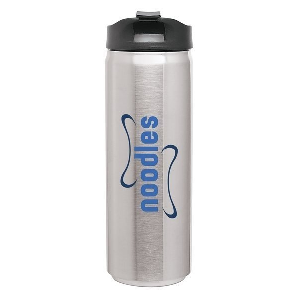 Promotional 16 oz SS Can - Stainless