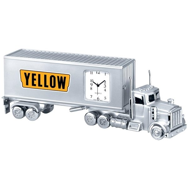 Promotional Metal Container Clock