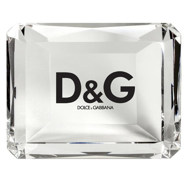 Promotional Crystal Rectangle Paperweight
