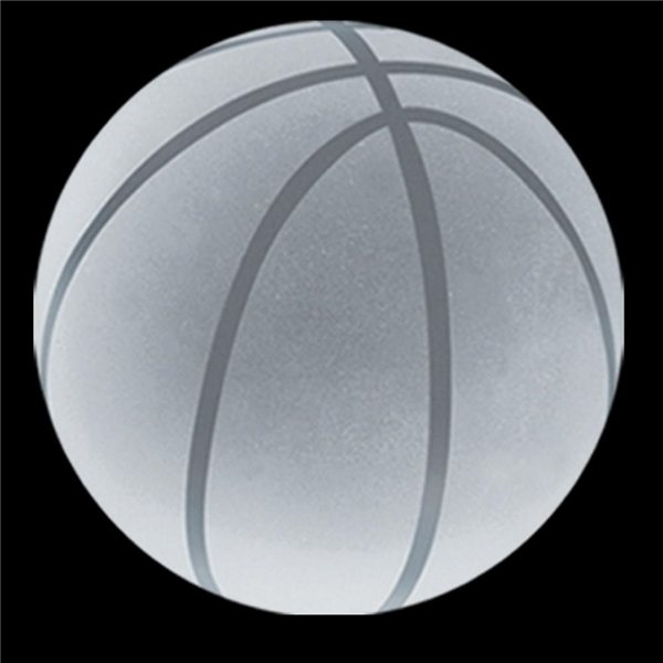 Promotional Crystal Basketball Paperweight