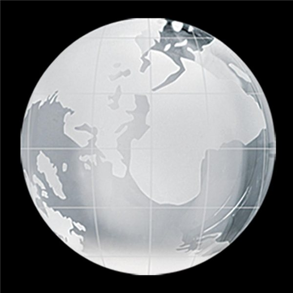 Promotional Crystal Globe Paperweight