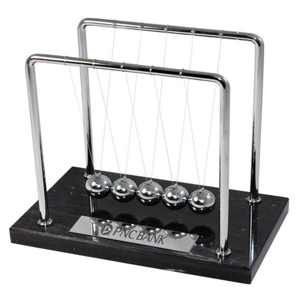 Promotional Marble Newtons Cradle