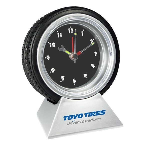 Promotional Tire Clock
