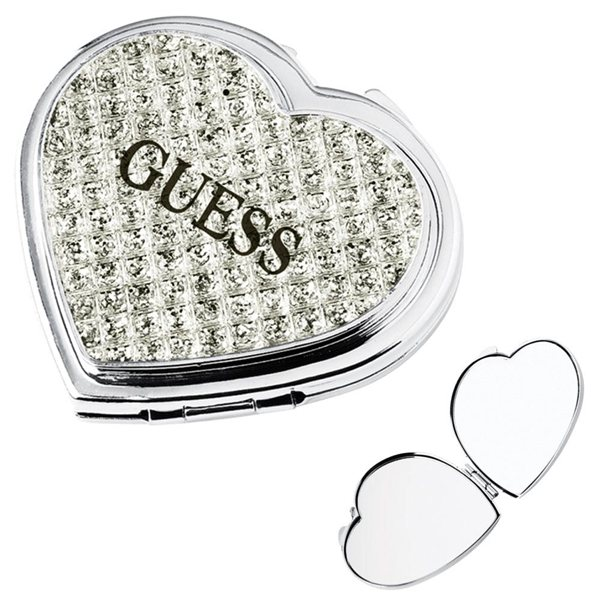 Promotional Jewelry Heart Compact Mirror