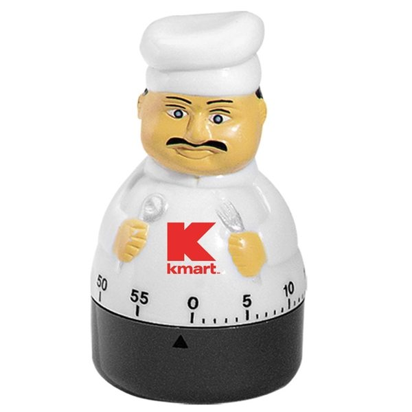 Promotional 60 Minute Kitchen Timer (Chef II)