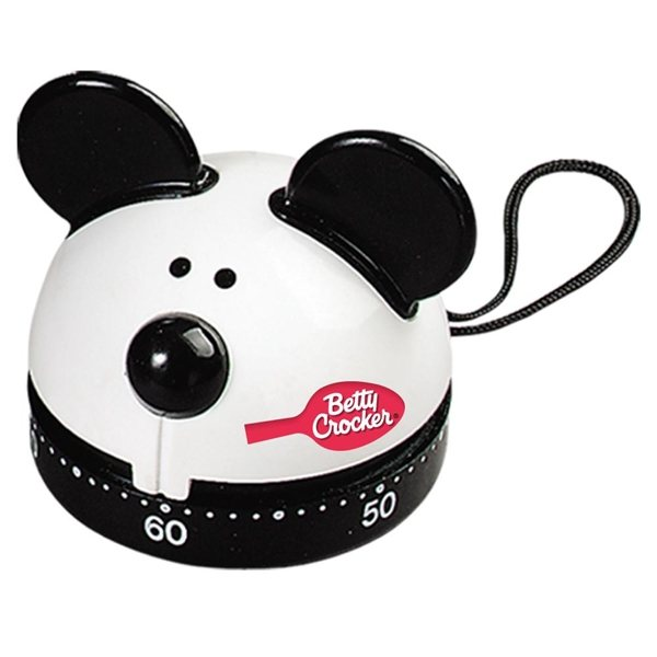 Promotional 60 Minute Kitchen Timer (Mouse)