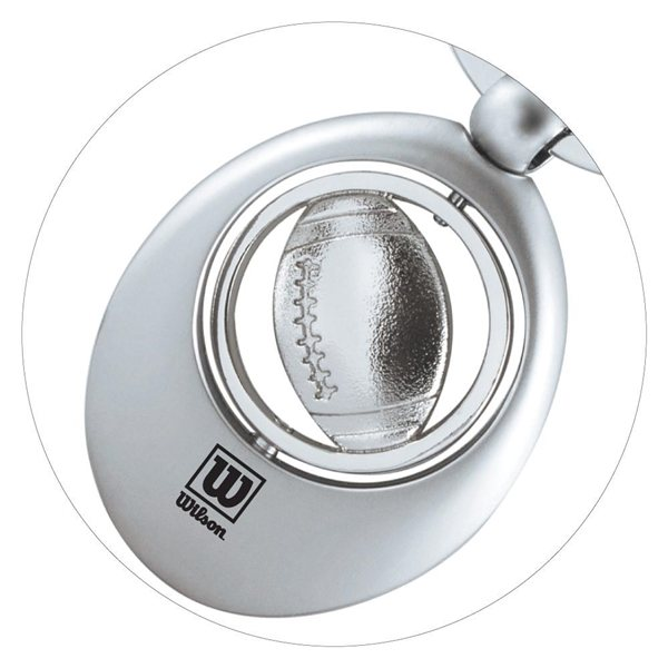 Promotional Football Swivel Sports Key Chain