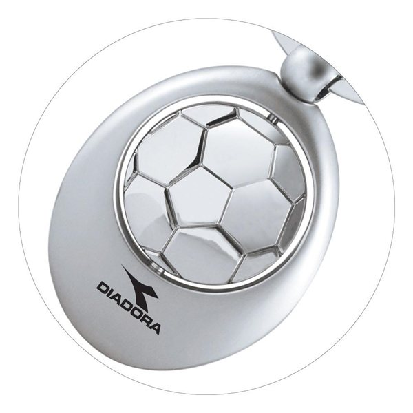 Promotional Soccer Swivel Sports Key Chain