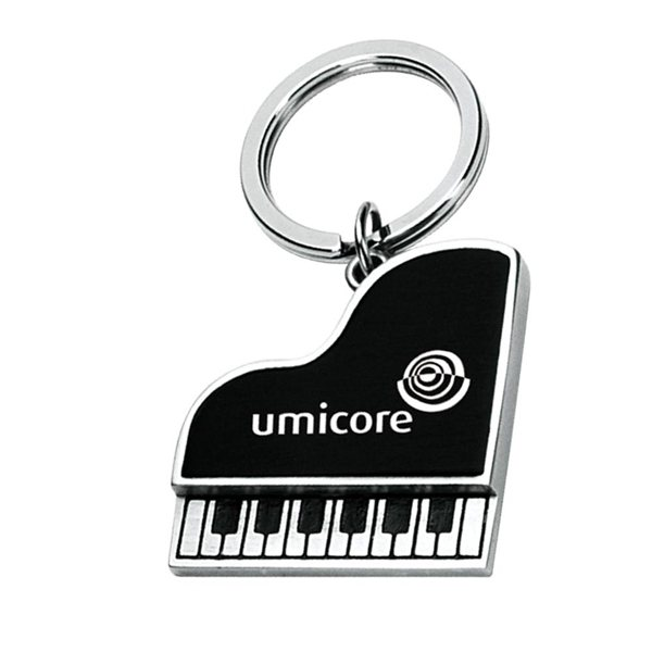 Promotional Metal Piano Shape Key Chain