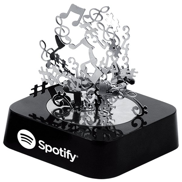 Promotional Music Notes Magnetic Sculpture Block