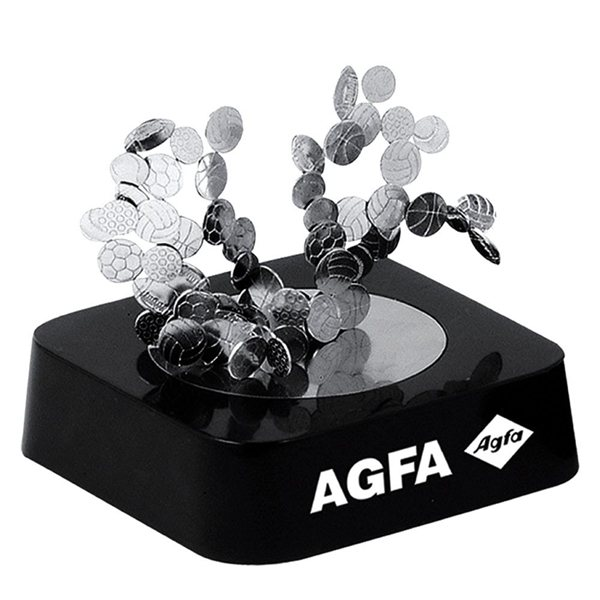 Promotional Sport Balls Magnetic Sculpture Block