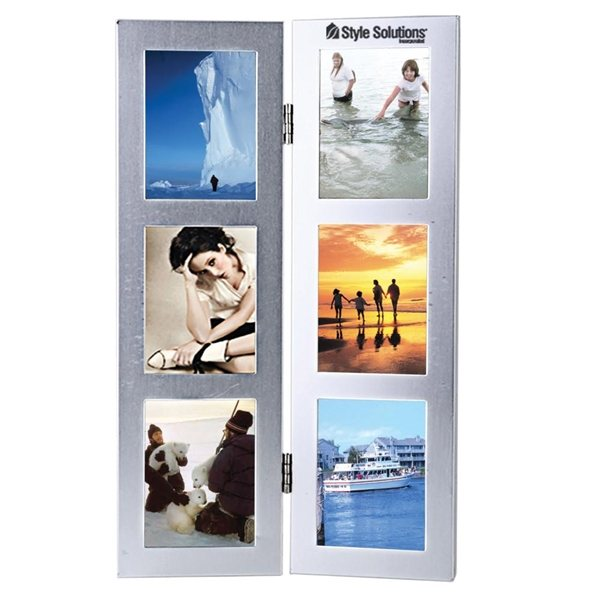 Promotional Two - Fold 6- Photo Metal Frame