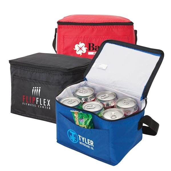 Promotional Slate Six - Pack Cooler
