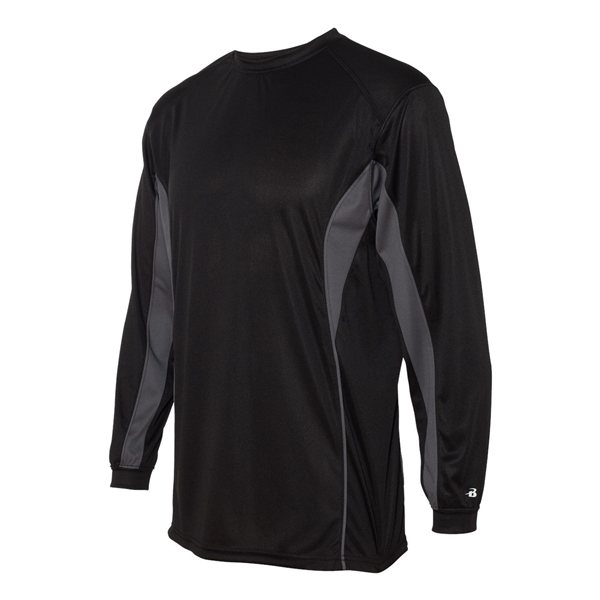 Promotional Badger - B - Core Drive Long Sleeve Colorblocked T - Shirt