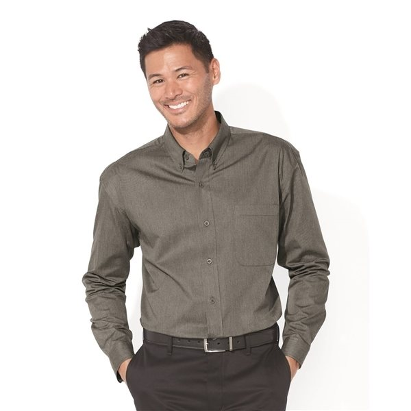 Promotional FeatherLite Long Sleeve Stain Resistant Twill Shirt
