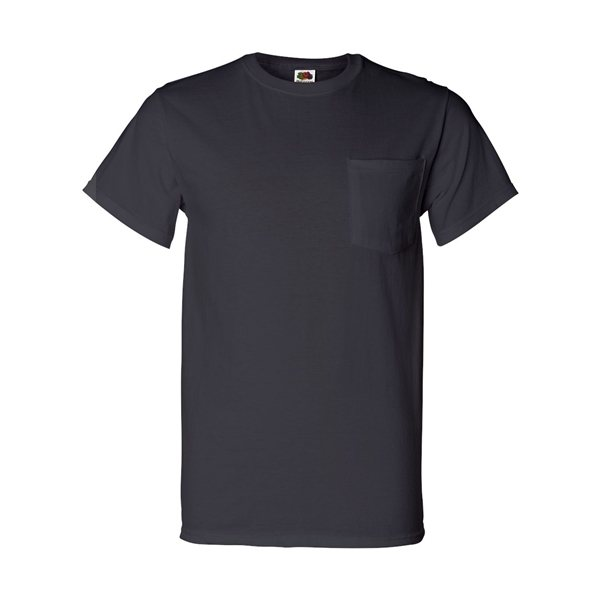 Promotional Fruit of the Loom Heavy Cotton HD T - Shirt with a Left Chest Pocket